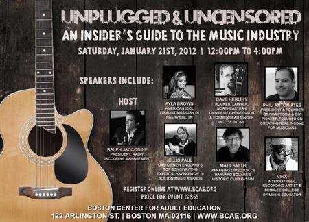 Unplugged & Uncensored: An Insider's Guide to the Music Industry