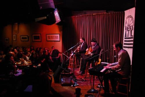 Ellis Paul performs with Kristian Bush of Sugarland